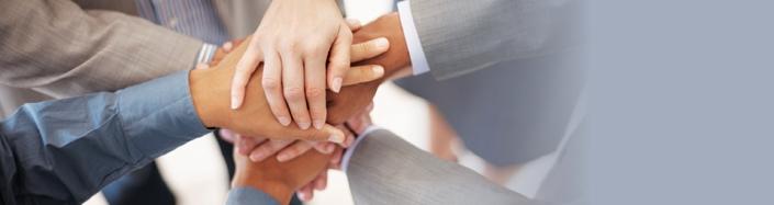 Leadership — Team Building — Banner