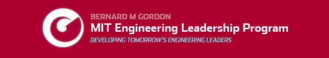 MIT Gordon Engineering Leadership Program (MIT GEL)