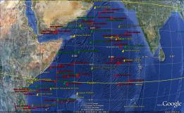 Somali Piracy Incidents - 2010