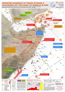 UNOSAT Somalia Pirate Attacks Map — 2008 (JPG)