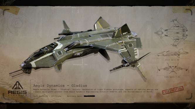 Aegis Dynamics Gladius
